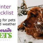 Winter checklist
